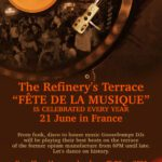 La Fete de la Musique Poster The Refinery Terrace